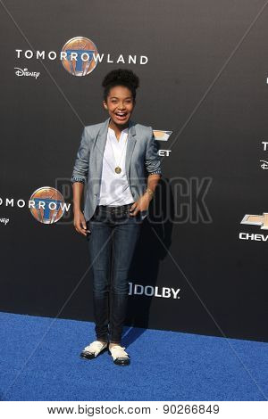 LOS ANGELES - MAY 9:  Yara Shahidi at the