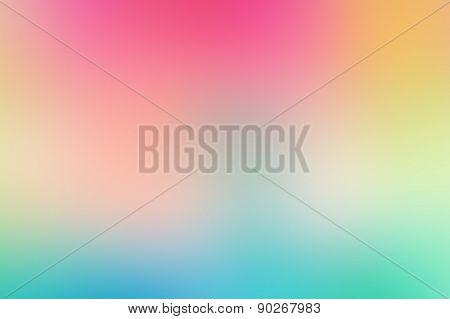 soft pink blue blur