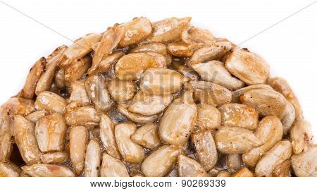 Sunflower seeds in syrup.