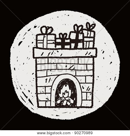 Fireplace Doodle