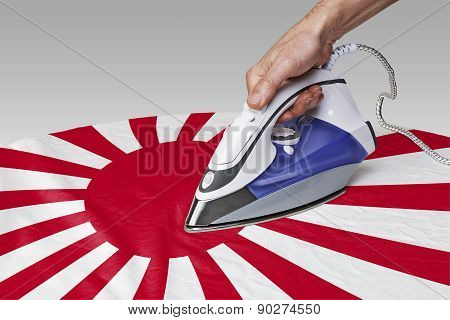 Smooth Out The Wrinkles Of Flag-japan War
