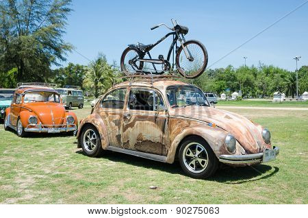 Grunge Volkswagen Beetle