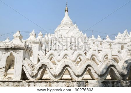 The White Pagoda Of Hsinbyume