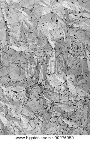 Crumpled color foil texture background