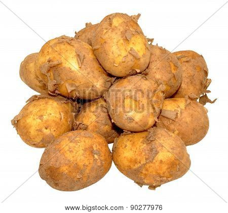 Raw New Potatoes
