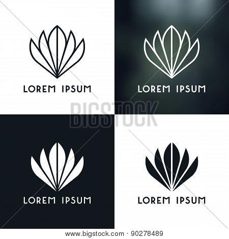 Logo Plant Set