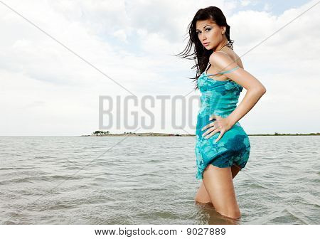 Posing In Water