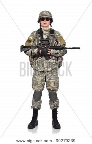 Soldier With Rifle