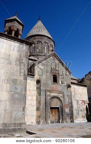 Geghard Or Ayrivank Medieval Rock Monastery,kotayk Province,armenia, Unesco World Heritage Site