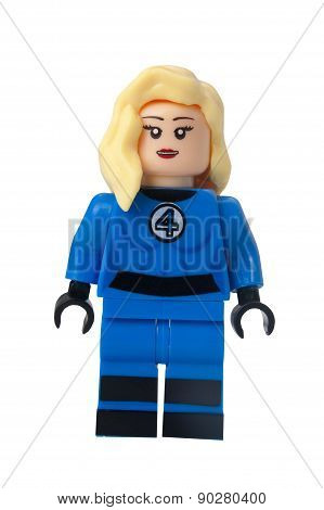 Susan Storm Custom Lego Minifigure