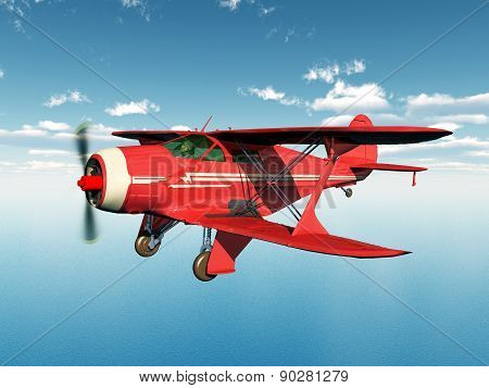 American biplane from the 1930s