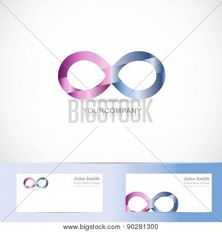 Infinite Infinity 3D Logo Design Concept