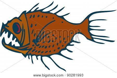 Underwater Predator Fish