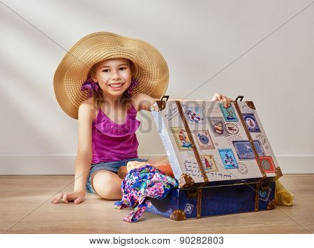 child to prepare for the trip