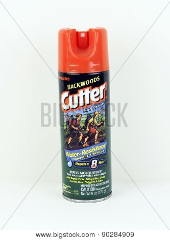 Can Of Cutter Backwoods Insect Repellent