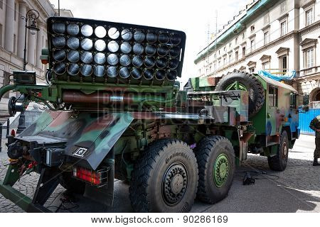 Mobile Rocket Launcher Langusta Wr40