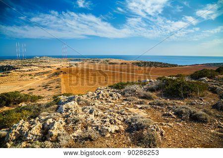 Cape Greco Landscape