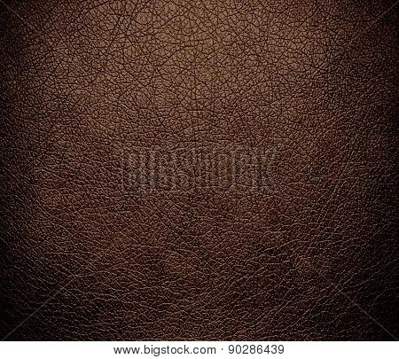 Coffee color leather texture background