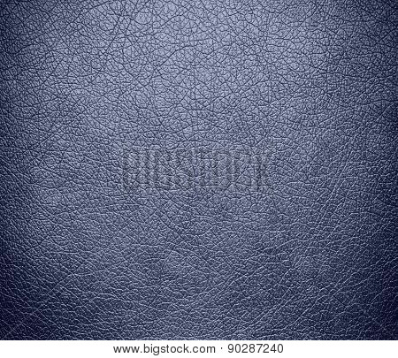 Cool grey color leather texture background