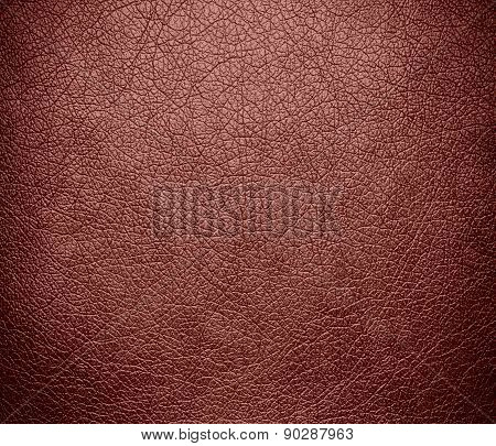 Copper penny color leather texture background