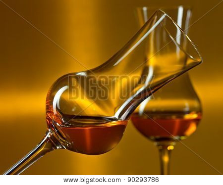 Glasses With Liqueur