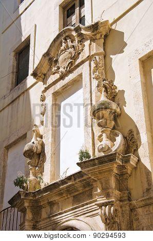 Ex Dogana Palace. Molfetta. Puglia. Italy.