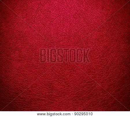 Crimson glory color leather texture background