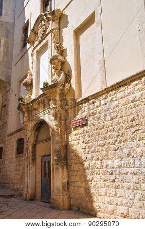 Ex Dogana Palace. Molfetta. Puglia. Southern Italy.