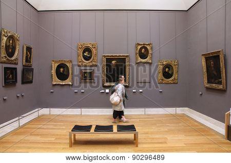 People Visit Museum