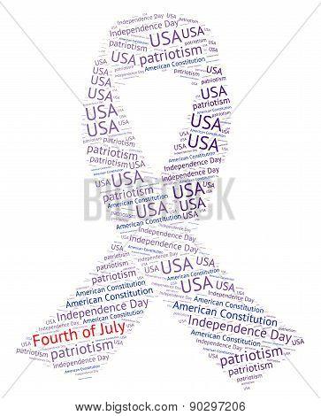 Fourth of July Ribbon