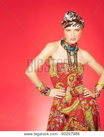 Colorful Exotic Fashion