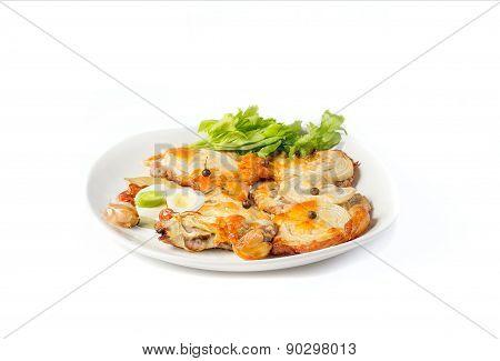 A dish of pork