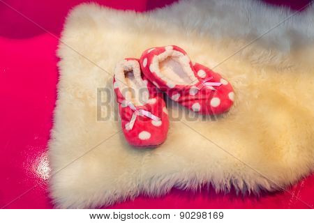 Cute child's slippers