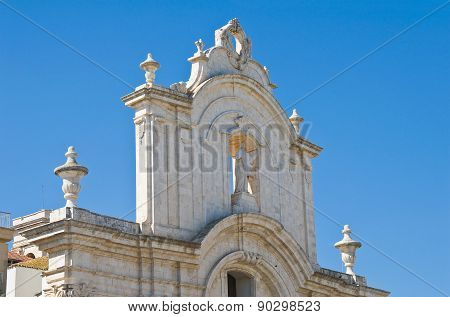 Church of St. Domenico. Molfetta. Puglia. Italy.