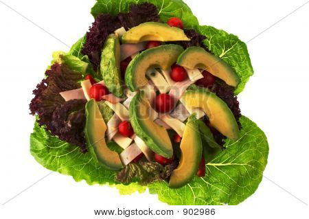 Chef'S Salad With Avocado - View 2