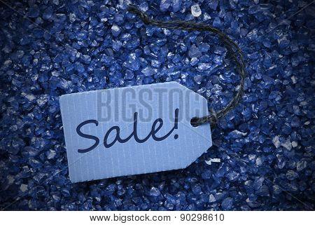 Purple Stones With Label Sale