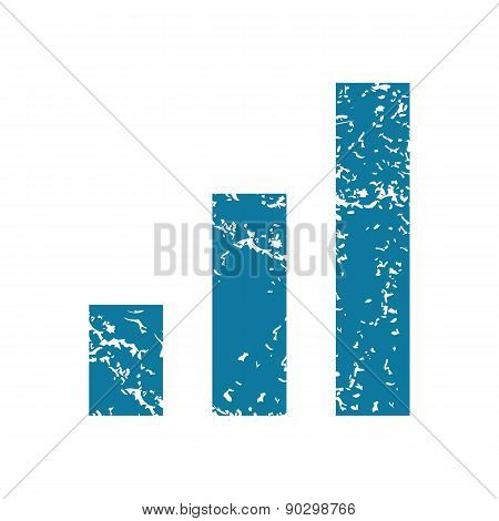 Grunge volume scale icon