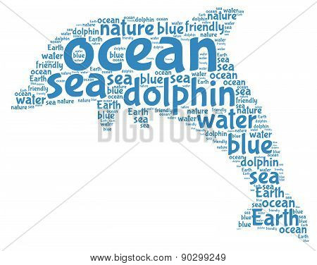 Dolphin - Word Cloud