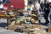 stock photo of hunter  - CHARTRES, FRANCE - May 10: The 19th meeting of bargain hunters Antiques - Bargain May 10, 2015 - JPG