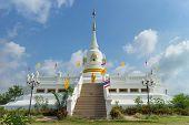 pic of worship  - place of worship with sky background at Wat Khun Sai - JPG