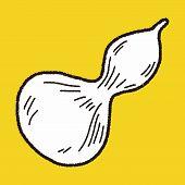 image of gourds  - Gourd Doodle - JPG