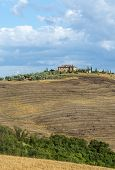 stock photo of senesi  - Crete senesi - JPG