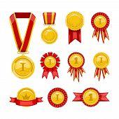 pic of medal  - Golden medals - JPG