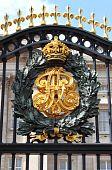 Emblem in Buckingham Palace