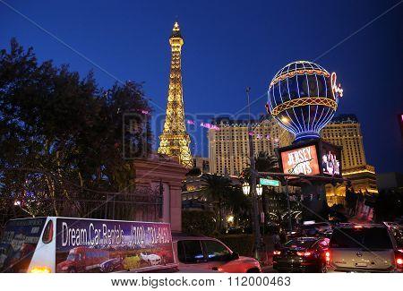 On The Strip, Las Vegas Boulevard, Las Vegas, Nevada