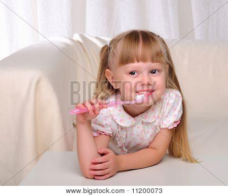 Portrait eines jungen Mädchens
