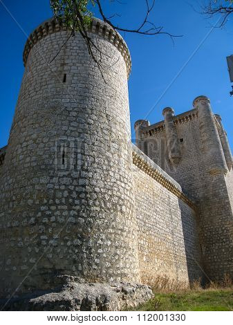 Castle At Torrelobaton,  Valladolid, Castilla Y Leon, Spain