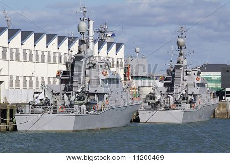 Warships At Rest