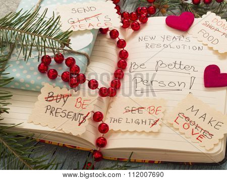 To Do List transformed into New Year