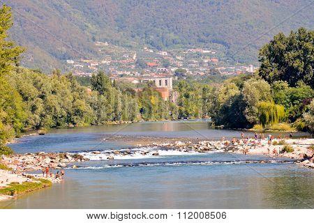 Medieval City Bassano del Grappa